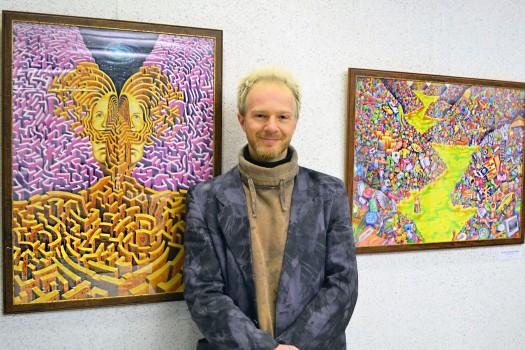 Der Grazer Künstler Michael Birnstingl