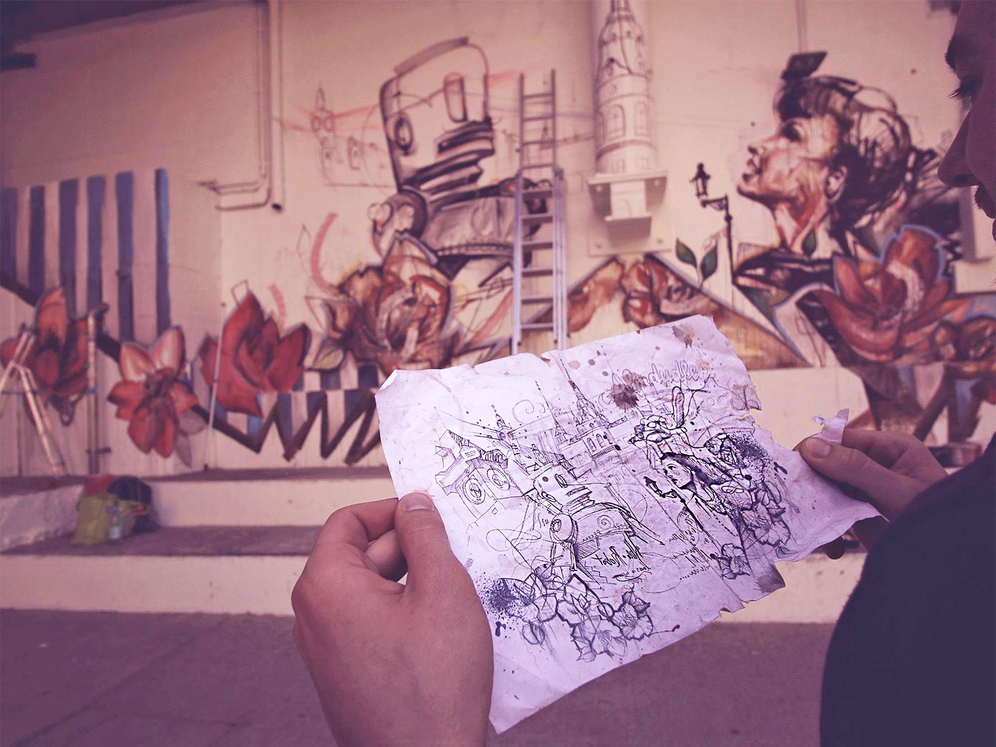 Citybeach skizze