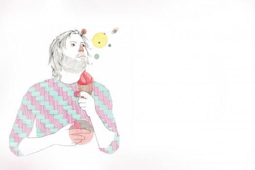 Der Illustrator Philipp Strohmeier…