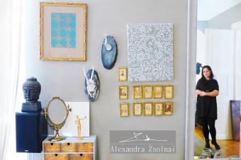 Zu Besuch bei der Künstlerin Alexandra Zsolnai