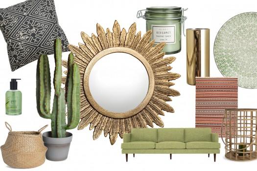 Interior Ideas: BOHO AND GREEN