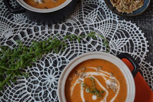 REZEPT | Paprika-Zucchini-Suppe